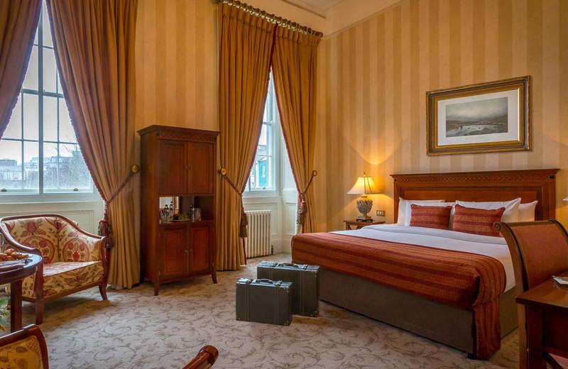 Guest room at Hotel Meyrick.