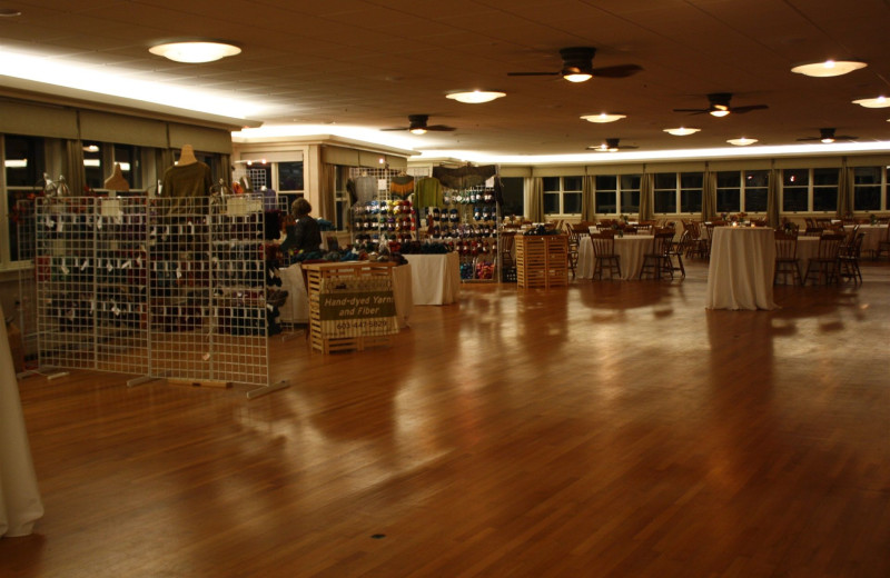 Meetings space at Sebasco Harbor Resort.
