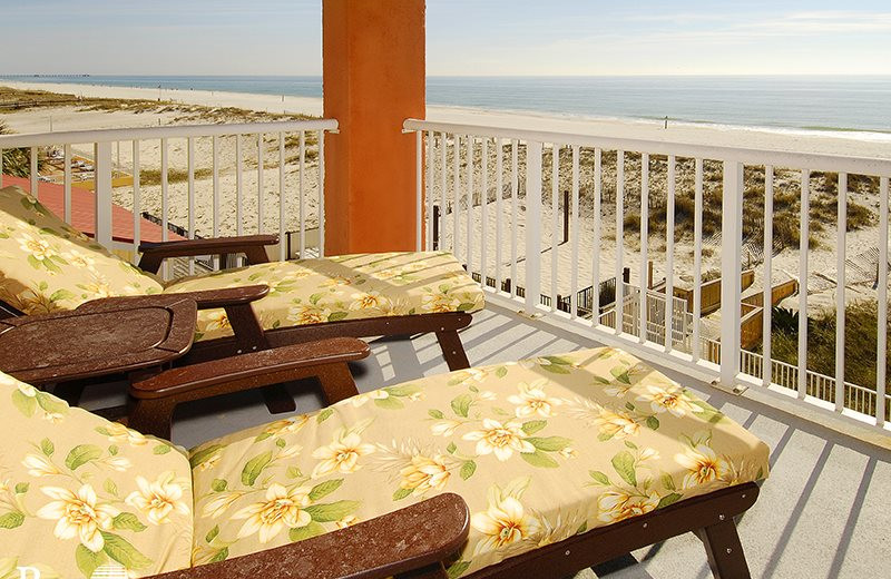 Rental balcony at Bender Realty.