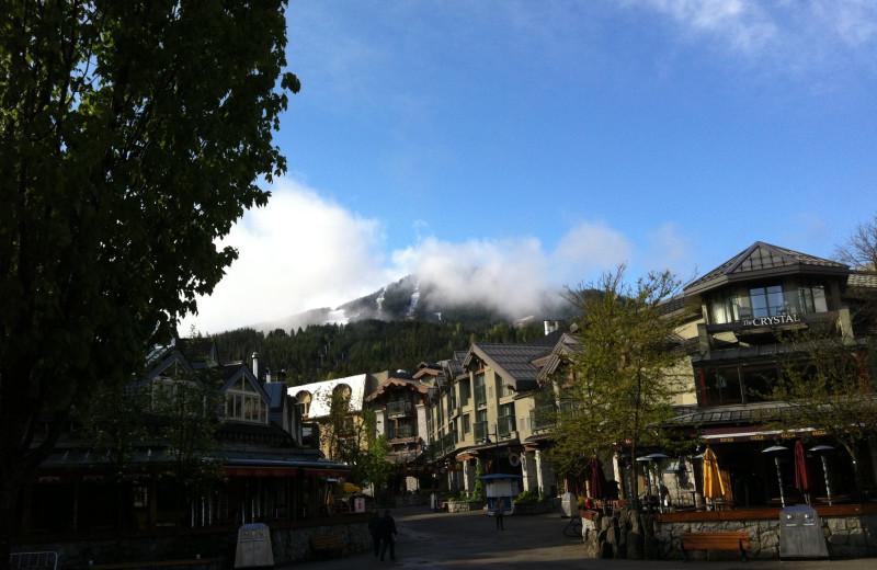 Village view at Whistler Premier Resort.