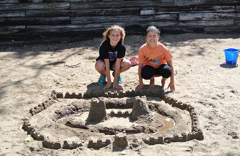 Sandcastle at Upper Cullen Resort.