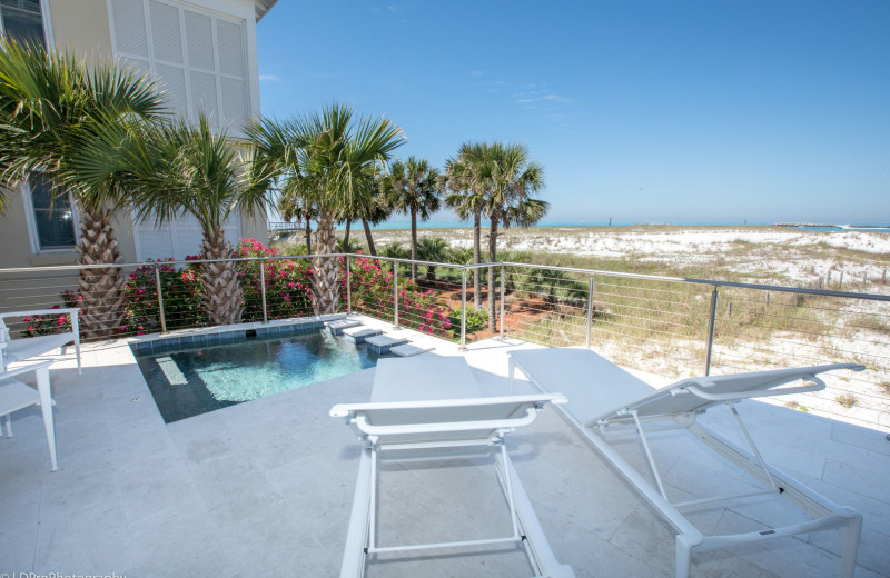 Rental pool at Holiday Isle Properties, Inc.