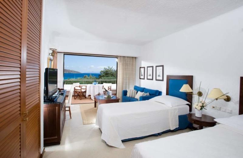 Guest room at  Elounda Bay Palace.