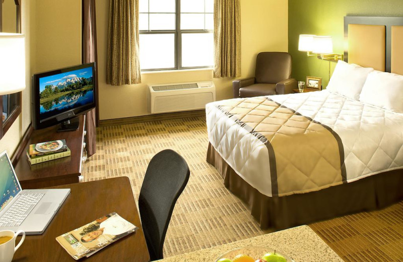 Guest room at Extended Stay America Phoenix - Scottsdale.