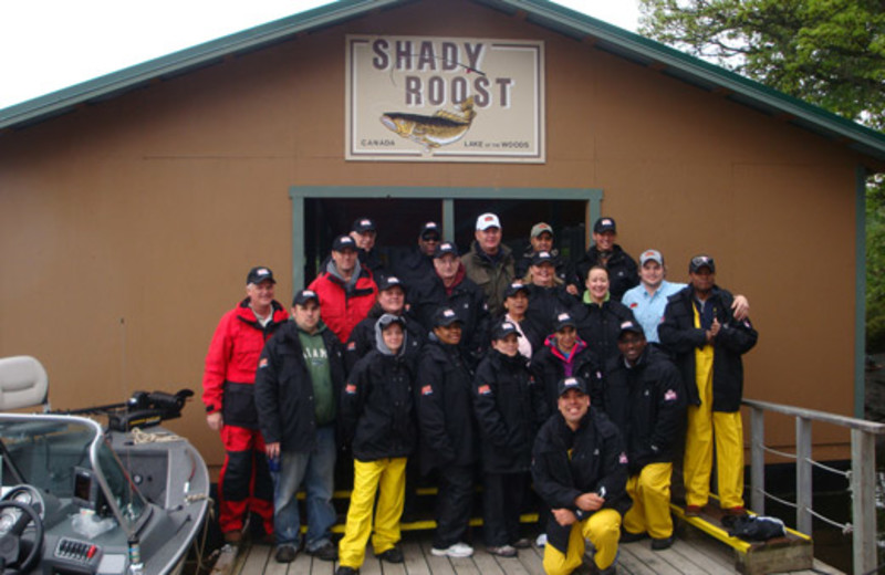 Corporate events at Shady Roost Lodge.