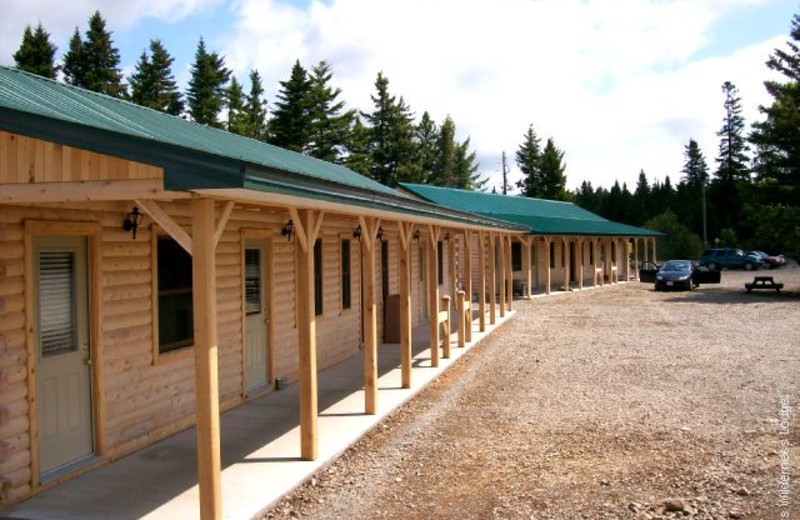 Exterior view of Adair's Lodge & Cabins.