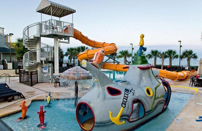 Outdoor waterpark at Caribbean Resort & Villas.