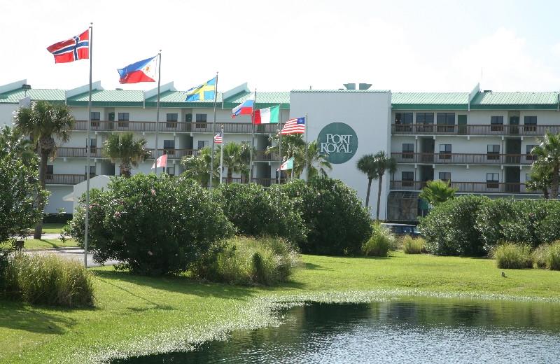 Exterior of Port Royal Ocean Resort