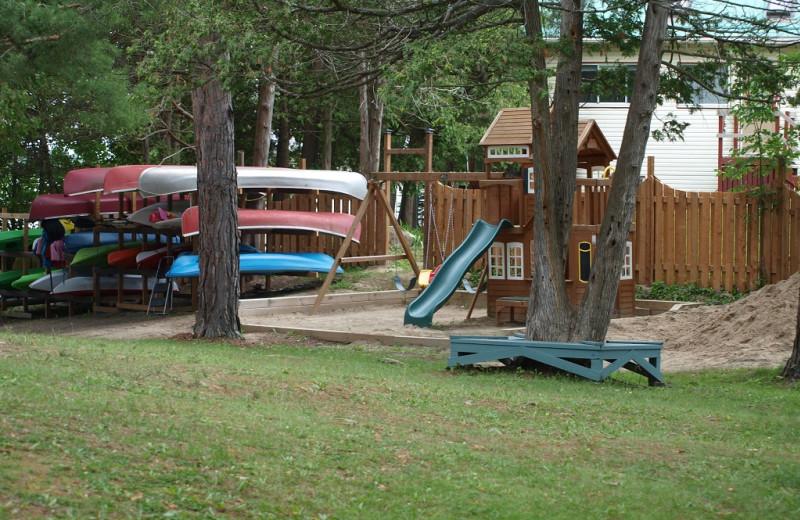 Activities at Sandy Beach at Otter Lake.
