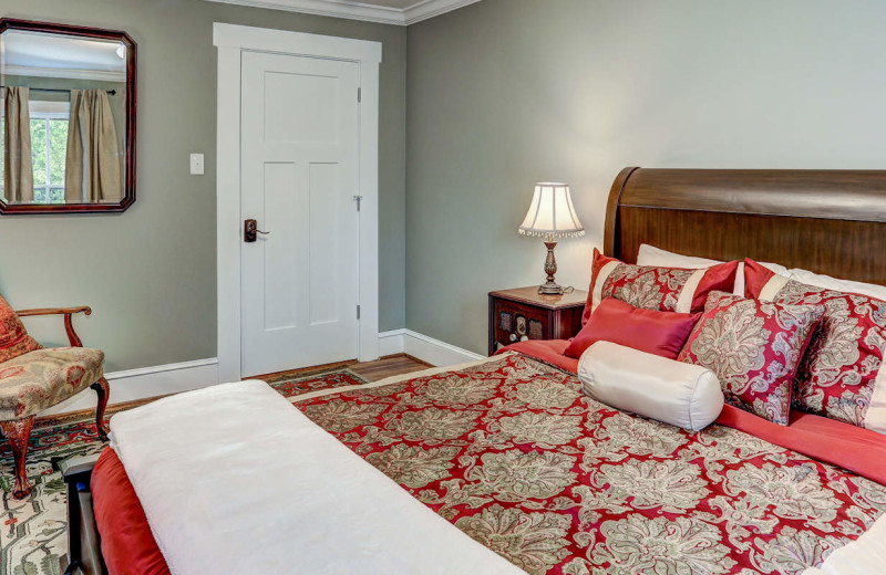 Guest room at Mayneview Bed & Breakfast at Luray Overlook.