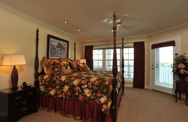 Guest room at The Geneva Inn.