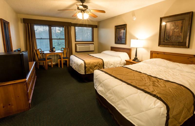 Bear's Den Hotel Room