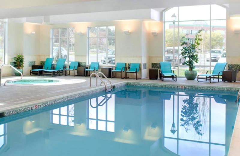 Indoor pool at Residence Inn by Marriott Palm Desert.