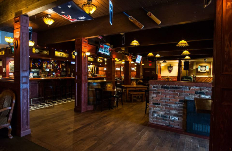 Bar view at Powder Springs Inn.