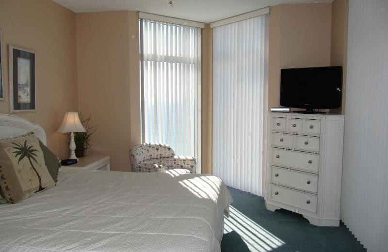 Guest room at Jade East Towers.