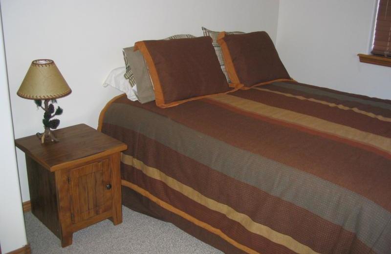 Guest bedroom at Lori's Luxury Rentals.