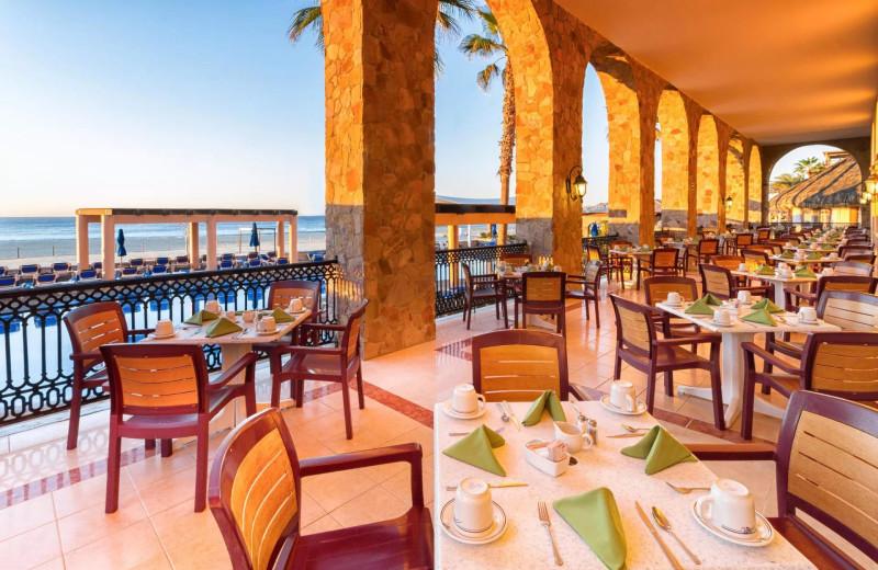 Dining at Royal Solaris - Los Cabos.