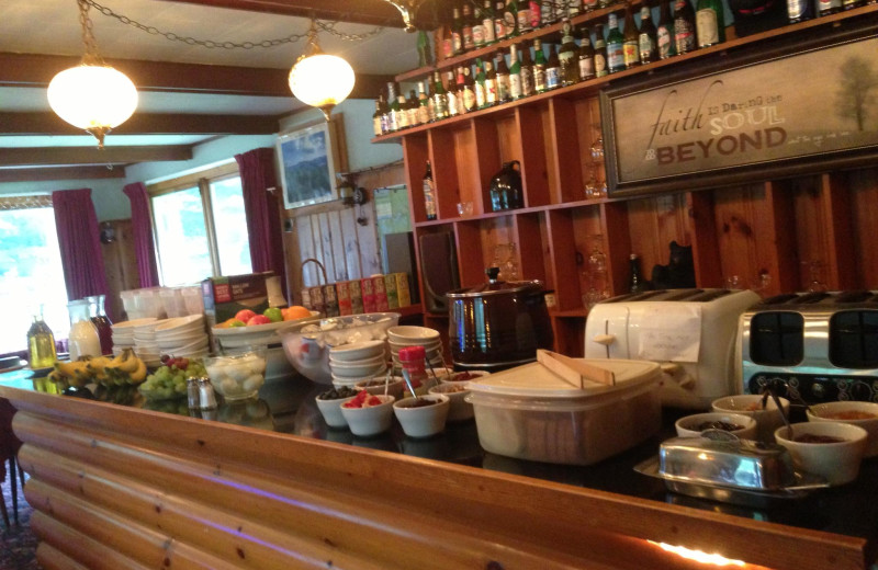 Dining at ADK Trail Inn.
