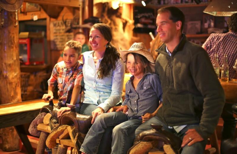 Family at Black Mountain Ranch.
