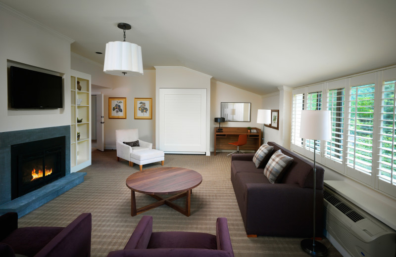Moss Glen suite at Topnotch Resort.