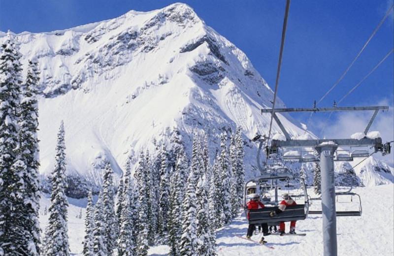 Skiing at Resorts of the Canadian Rockies.