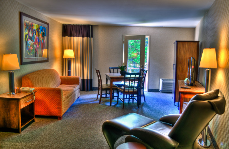 Presidential suite at Ascend Hotel Collection-The Woodlands Inn.