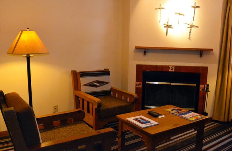 Suite interior at Hotel Chimayo de Santa Fe.