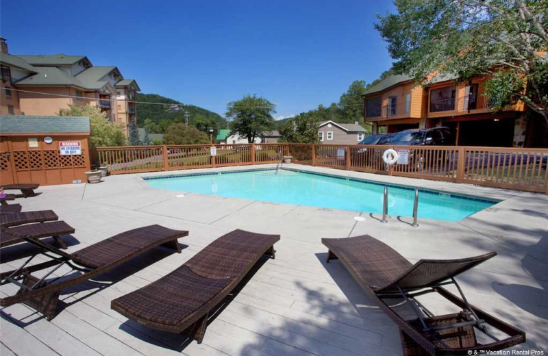 Rental pool at Vacation Rental Pros - Gatlinburg.