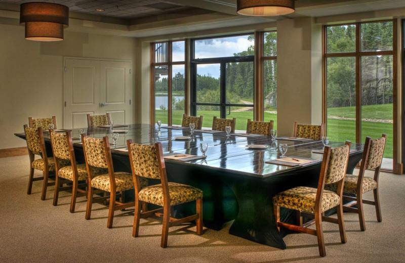 Meeting room at Elk Ridge Resort.