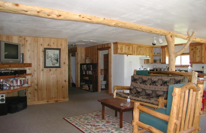 Ranch House Living Room at Rising Wolf Ranch.