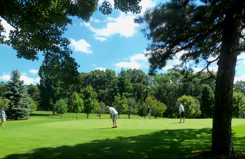Golf course at Capon Springs.
