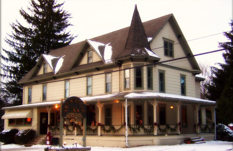 Exterior view of Brown's Trent House Inn.