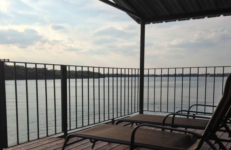 Lake view at LBJ Schmidt House.