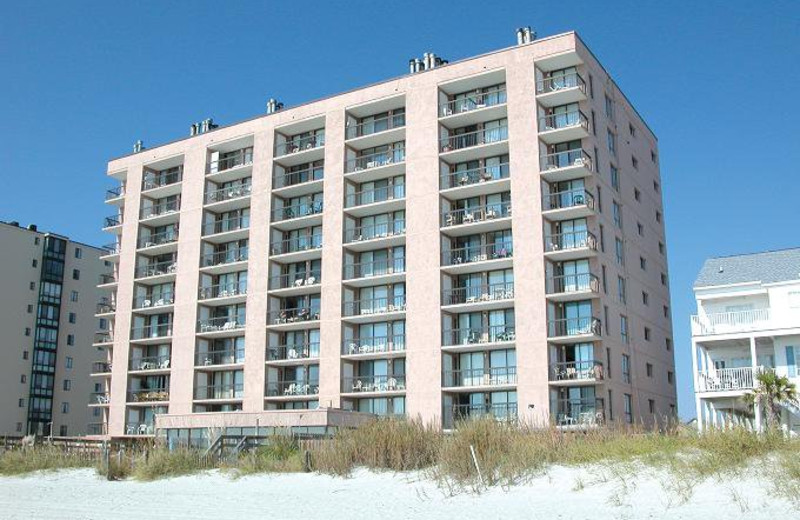 Vacation rental exterior at Myrtle Beach Vacation Rentals.
