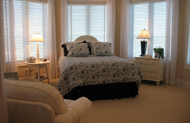 Rental bedroom at Williamson Realty. Inc.