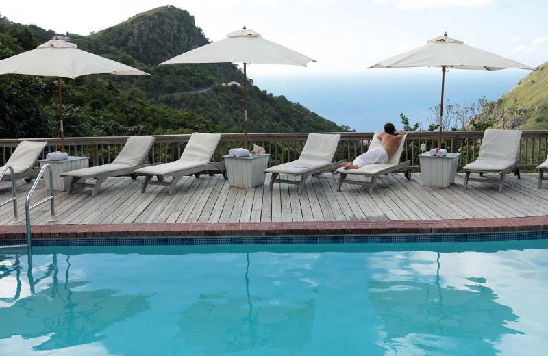 Outdoor pool at Queen's Garden Resort.