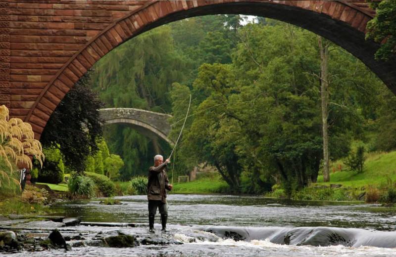 Fishing at Doonbrae B&B.
