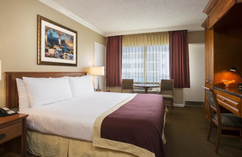 King guest room at Ocean Sky Hotel & Resort.