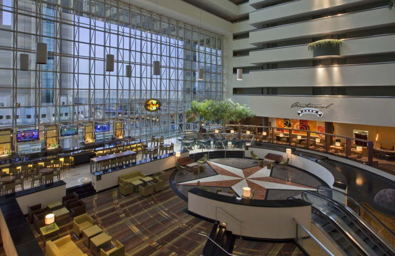 Lobby at Hyatt Regency Dallas