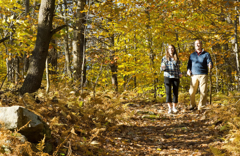 Hikes at Steele Hill Resorts.