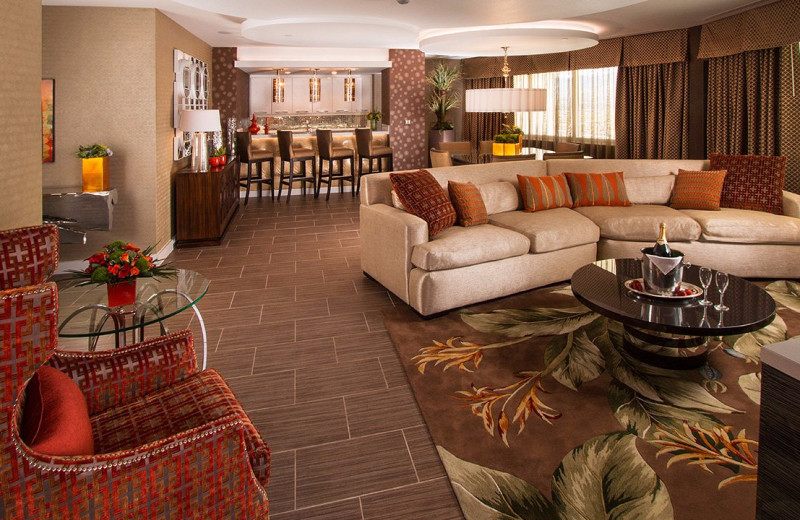 Guest suite at Grand Sierra Resort and Casino.