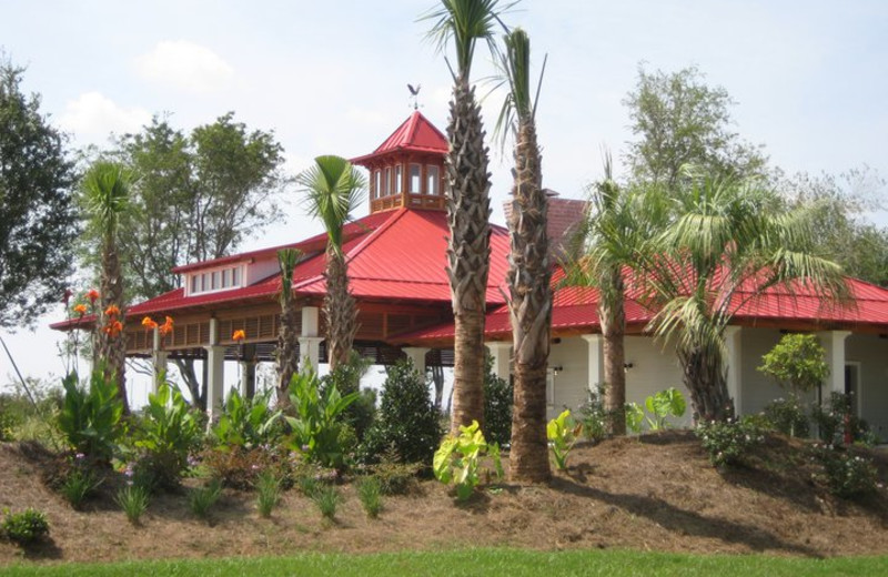 The Lookout Pavilion at  Charleston Harbor Resort