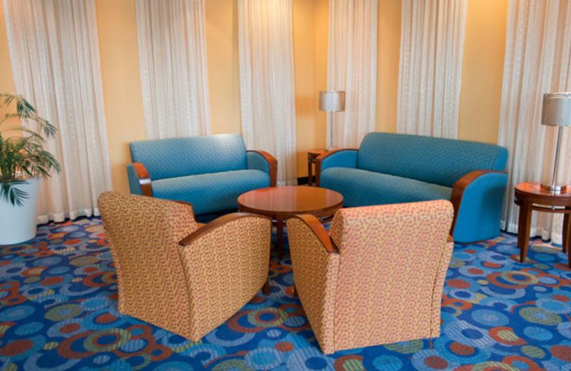 Lounge view at Avista Resort.
