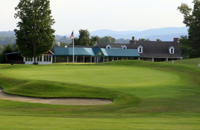 Golf course at Mountainside Resort at Stowe.