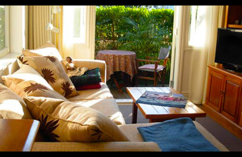 Guest room at Devonport Villa Bed and Breakfast Inn.