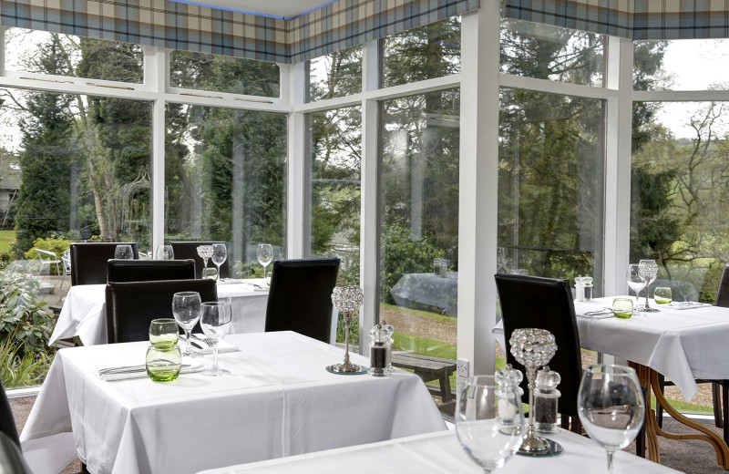 Dining at Moffat House Hotel.