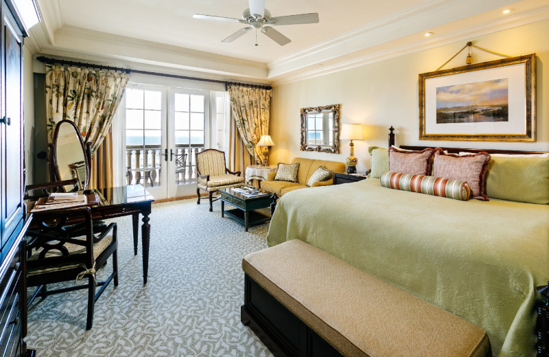 Guest room at Kiawah Island Golf Resort.