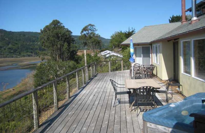 Exterior view of Egret's Overlook Home.