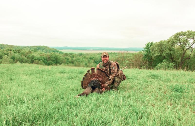 Turkey hunting at Harpole's Heartland Lodge.