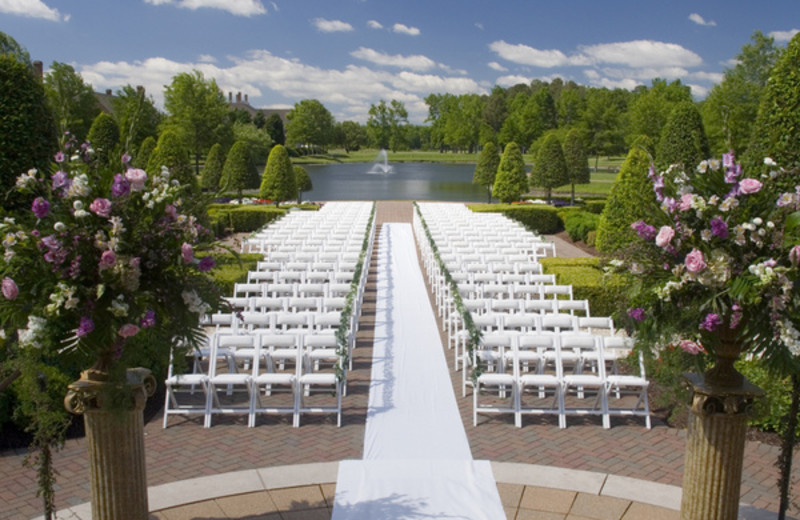 Outdoor Ceremony at The Founders Inn